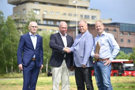 Stichting FOGO draagt resterende geld over aan Ondernemend Roombeek