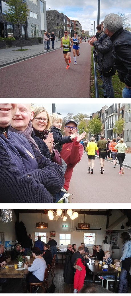 Hulde aan alle Enschede Marathon lopers