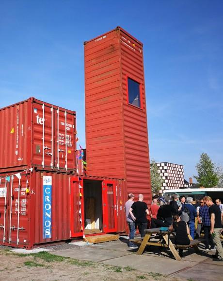 CeeParc: containerpark als ontmoetingsplek